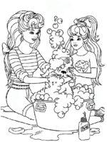 Barbie mit tiere-7