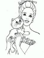Barbie mit tiere-8