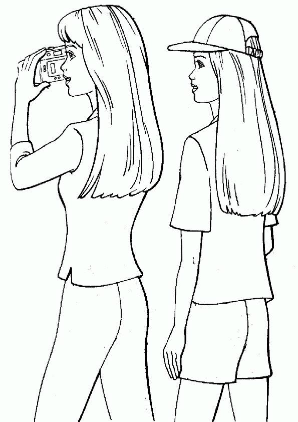 ausmalbilder barbie und freuden-4