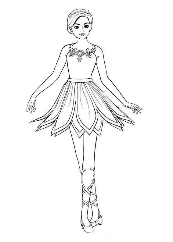 ausmalbilder barbie ballett-2