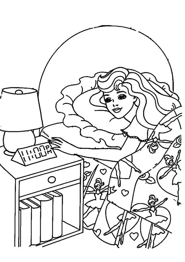 ausmalbilder barbie-171