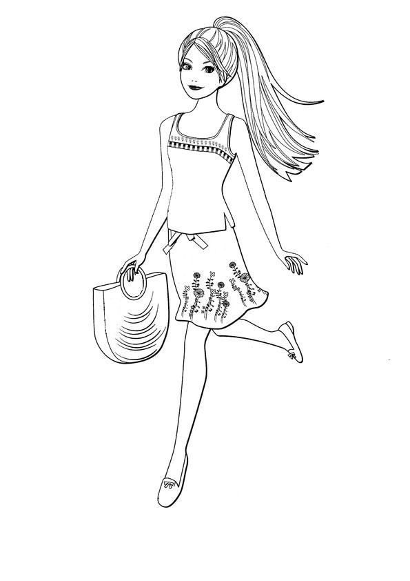 ausmalbilder barbie-198