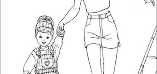 barbie mit kinder-3