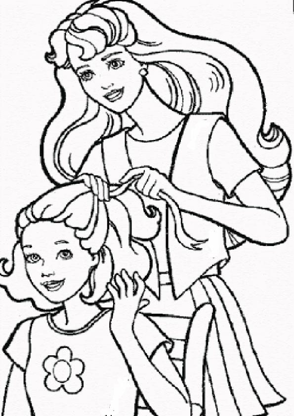 barbie mit kinder-8