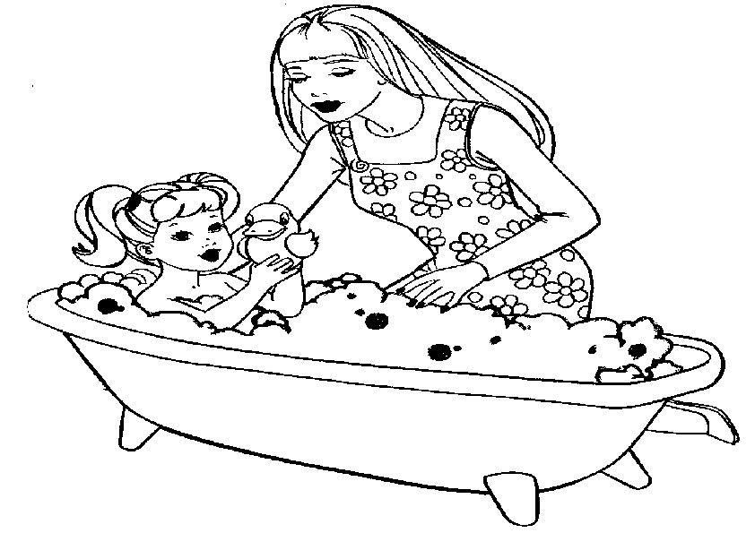 barbie mit kinder-9